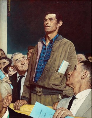 Norman Rockwell : American Freedom